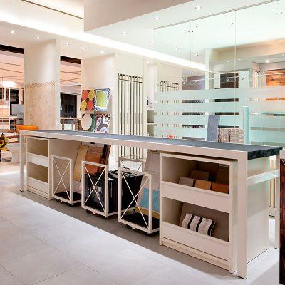 Alghero showroom interior design - Mara Home Experience